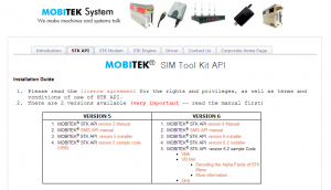 MOBITEK Air-Tim Realod Development Kit CD