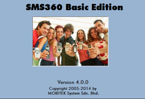 SMS360 - Basic Edition version 4