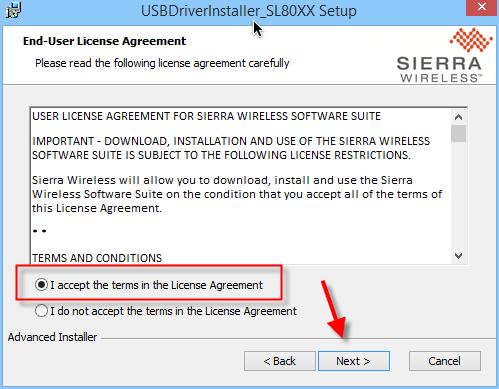USB driver S80-004