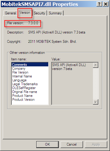 How to Find the Version Number
