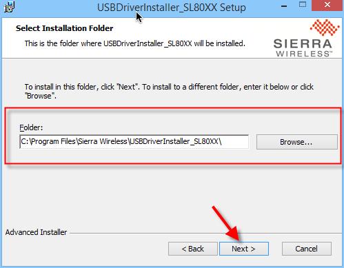 USB driver S80-005