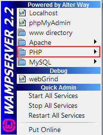 How to Configure WAMP Server to Support PHP and MySQL -- 01