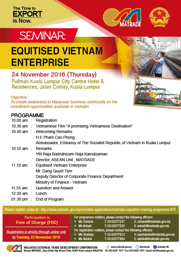 SEMINAR ON EQUITISED VIETNAM ENTERPRISE