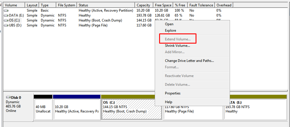 02-How to Resize Partition-Extend the volume of C partition