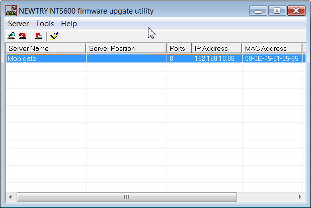 Change the IP Address of MobiGATE-02