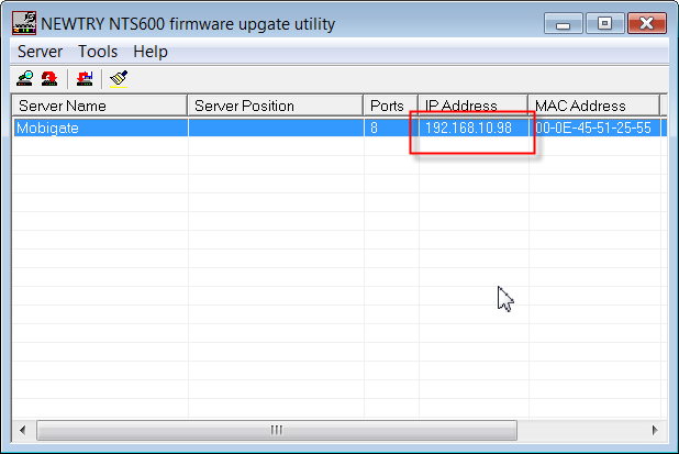 how to change system ip address