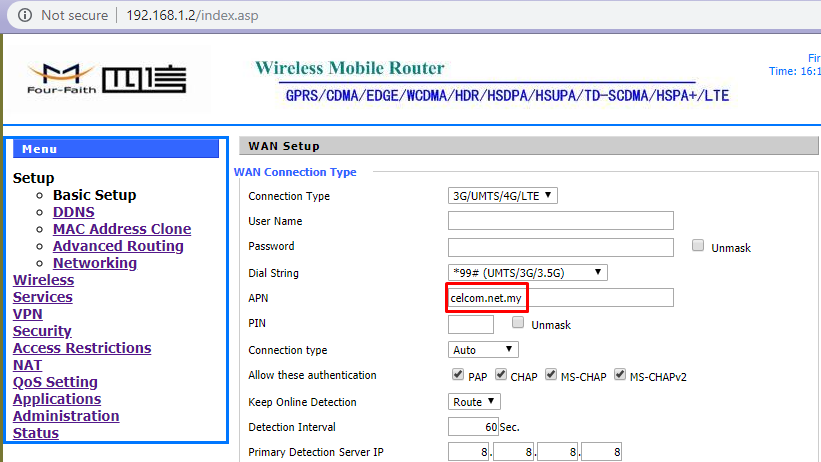 How to Set-Up 3G Router F342x | MOBITEK System Corporate Blog