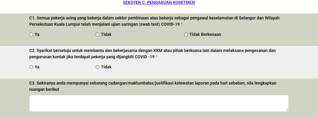 How To Automatically Fill In Laporan Harian Pematuhan Sop Mobitek System Corporate Blog